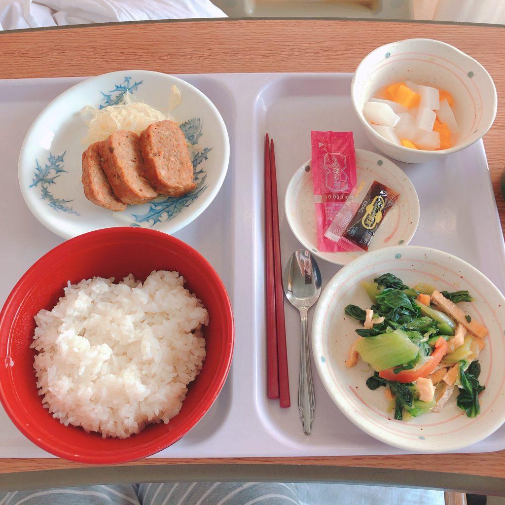病院での食事